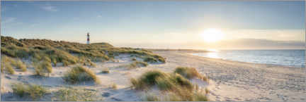 Acrylic print  Dune landscape on Sylt - Jan Christopher Becke