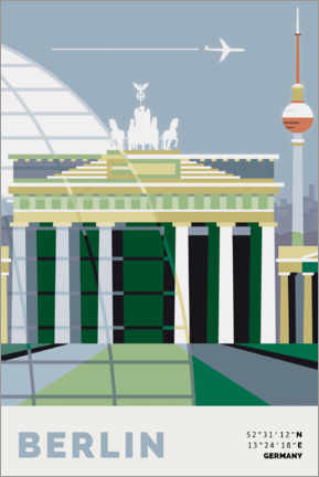 Canvas print  Berlin - Nigel Sandor