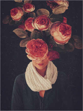 Canvas print  The smile of Roses - Frank Moth