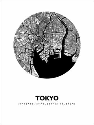 Wall sticker  Tokyo - 44spaces