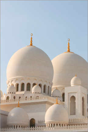 Foam board print  The Sheikh Zayed Mosque in Abu Dhabi - CuboImages