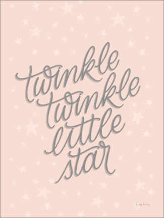 Foam board print  Little Star - Becky Thorns
