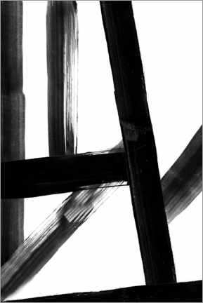 Acrylic print  Abstract Lines - Dani Jay Designs