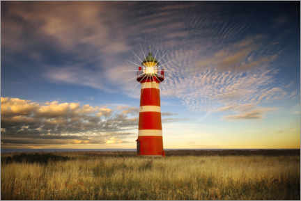 Acrylic print  When Lighthouse - Carsten Meyerdierks