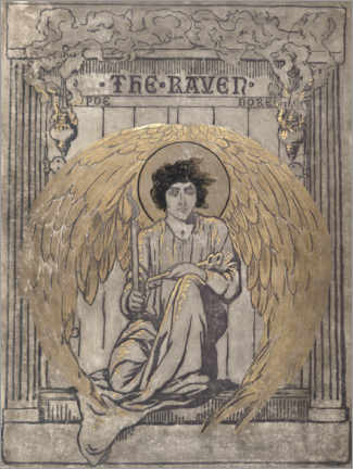 Gallery print  The Raven - Elihu Vedder