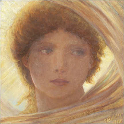 Wall sticker  Portrait of a young woman - Elihu Vedder