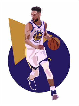 Premium poster Stephen Curry