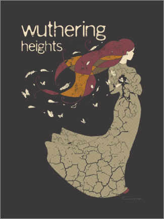 Acrylic print  Wuthering Heights - Timone