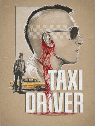 Acrylic print  Taxi Driver - The Usher designs