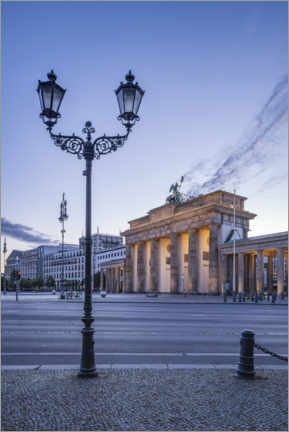 Premium poster  Brandenburg Gate at the Square of March 18th - Jan Christopher Becke