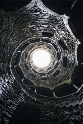Canvas print  Fountain of the Quinta da Regaleira, Portugal