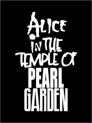 Premium poster  Alice In The Temple Of Pearl Garden - Michael Tarassow