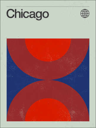 Foam board print  Chicago - Swissty