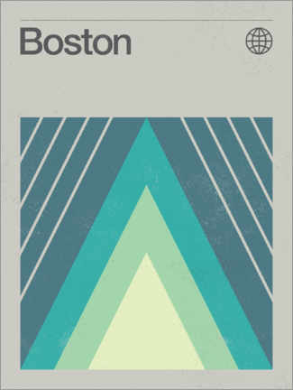 Gallery print  Boston - Swissty