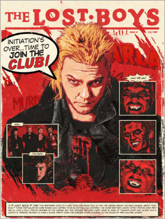 Premium poster  The Lost Boys - The Usher designs