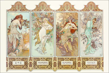 Premium poster The four Seasons
