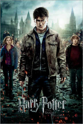 Gallery print  The Deathly Hallows II - Trio