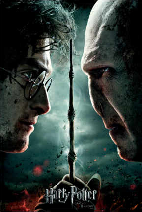 Premium poster  The Deathly Hallows II - Duel