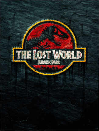 Canvas print  The Lost World - Jurassic Park