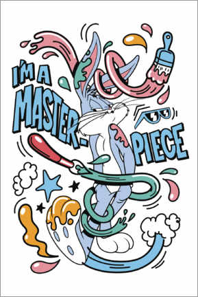 Premium poster  Bugs Bunny - I'm a masterpiece