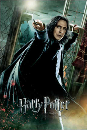 Premium poster The Deathly Hallows II - Severus Snape Duel