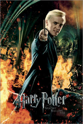Premium poster The Deathly Hallows II - Draco Malfoy