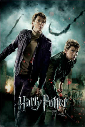 Premium poster  The Deathly Hallows II - Fred & George