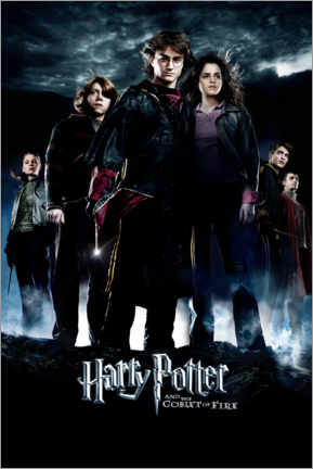 Premium poster Harry Potter and the Goblet of Fire