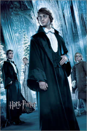 Canvas print  The Goblet of Fire - Yule Ball