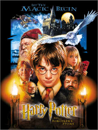 Aluminium print  Harry Potter and the Sorcerer's Stone
