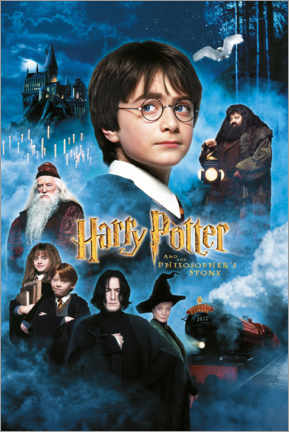Aluminium print  Harry Potter and the Philosopher's Stone