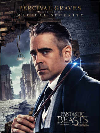 Premium poster  Fantastic Beasts and Where to Find Them - Percival Graves