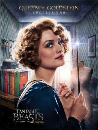 Premium poster  Fantastic Beasts and Where to Find Them - Queenie Goldstein