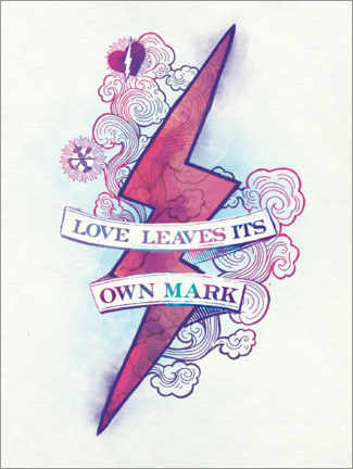 Premium poster  Harry Potter - Love Leaves Its Own Mark