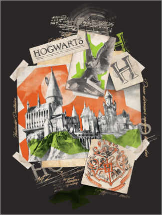 Premium poster  Hogwarts School of Witchcraft and Wizardry