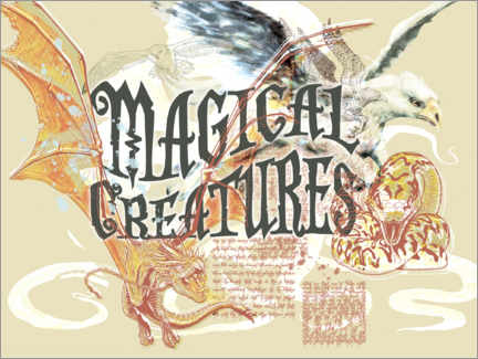 Premium poster  Magical Creatures