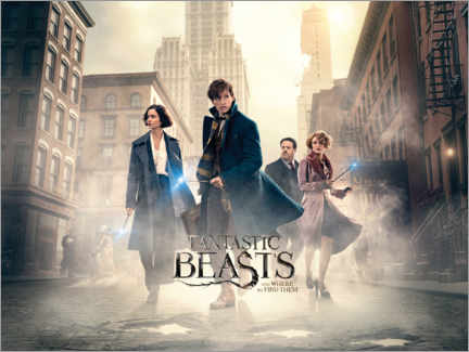 Acrylic print  Fantastic Beasts and Where to Find Them - Theatrical poster