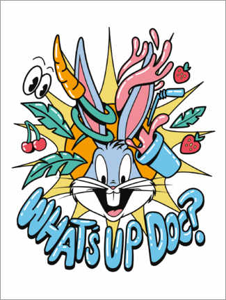 Gallery print  Bugs Bunny - What's Up Doc?