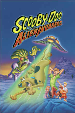 Gallery print  Scooby-Doo And The Alien Invaders