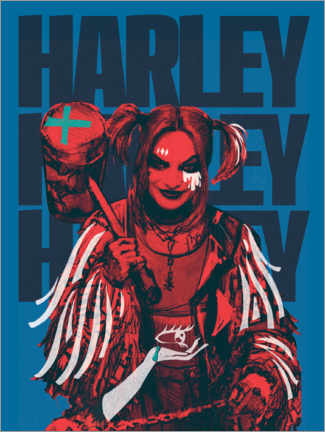 Canvas print  Mad Harley