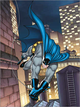 Premium poster  Batman comic hero