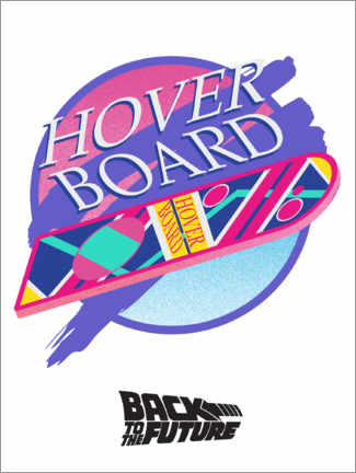 Canvas print  Hoverboard
