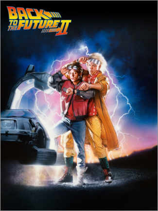 Premium poster  Back to the future II