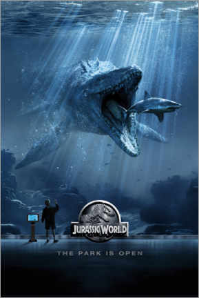 Wall sticker  Jurassic World - Mosasaurus