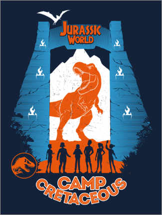 Wall sticker Camp Cretaceous - Park Tour