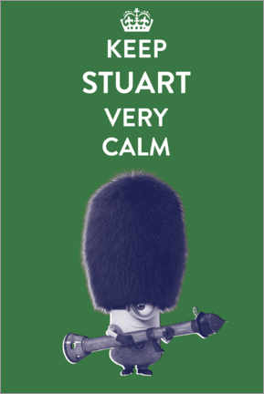 Premium poster Keep Stuart very calm