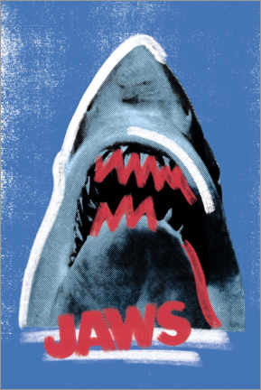 Premium poster  Jaws, mixed media