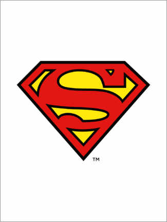 Premium poster  Superman Iconic Logo
