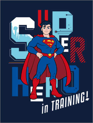 Premium poster  Super Hero in Training