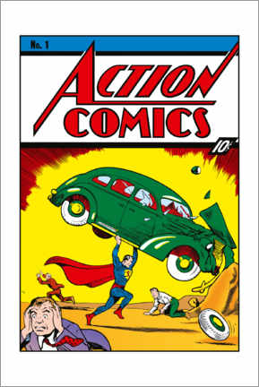Premium poster  Superman Action Comics No.1